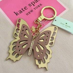 Kate Spade Butterfly Key Fob Bag Charm